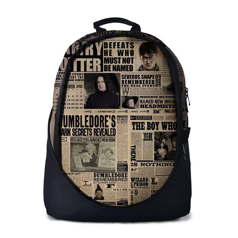 Harry Potter: The Daily Prophet Backpacks | Harry Potter™