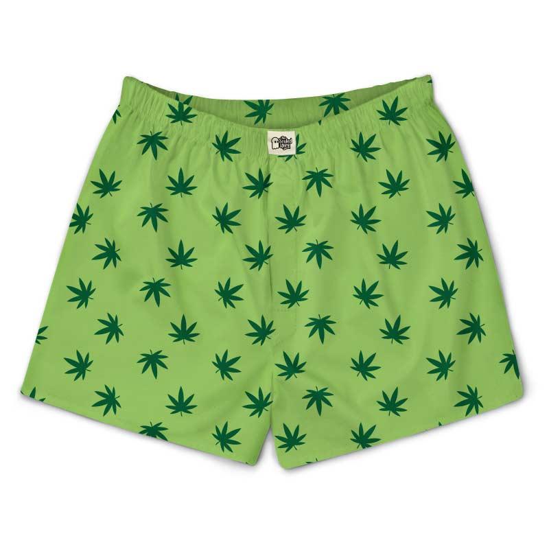 Marijuana Pattern Boxers | The Souled Store