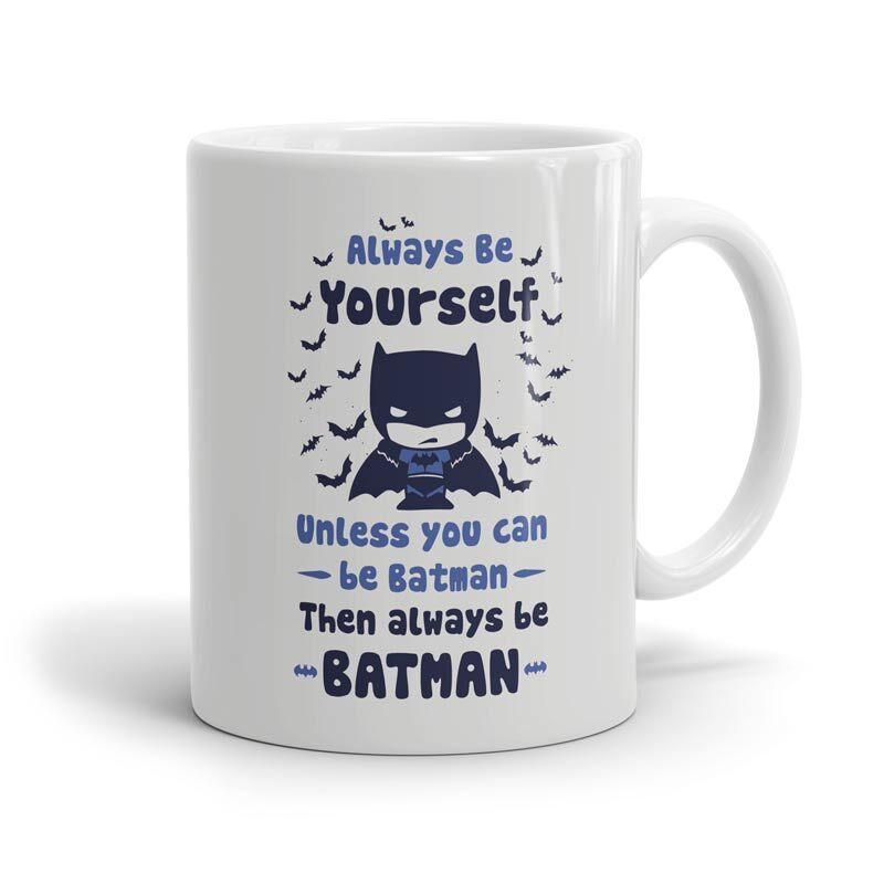 Batman: Be Yourself Mugs | DC Comics™