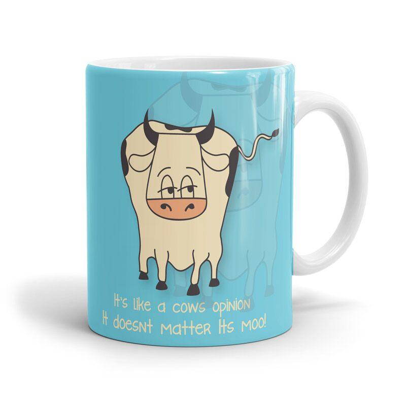 F.R.I.E.N.D.S: Moo Point Mugs | F.R.I.E.N.D.S™