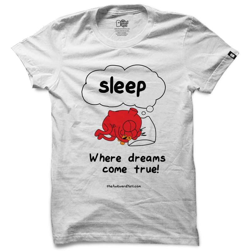 Awkward Yeti: Dreams T-Shirts | The Awkward Yeti