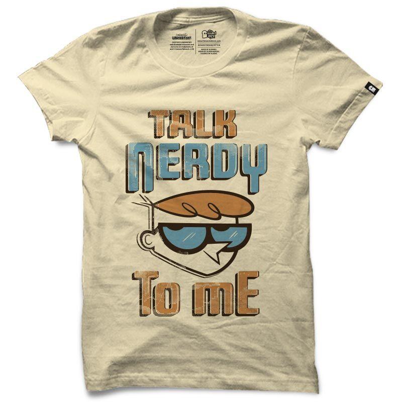 Dexter: Talk Nerdy T-Shirts | Dexter