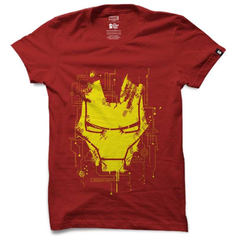 Iron Man: Mask T-Shirts | Marvel™