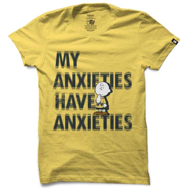 Peanuts: My Anxieties T-Shirts | Peanuts™