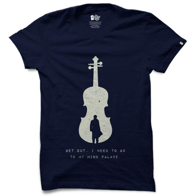 Sherlock: Mind Palace T-Shirts | Siddharth Ahuja