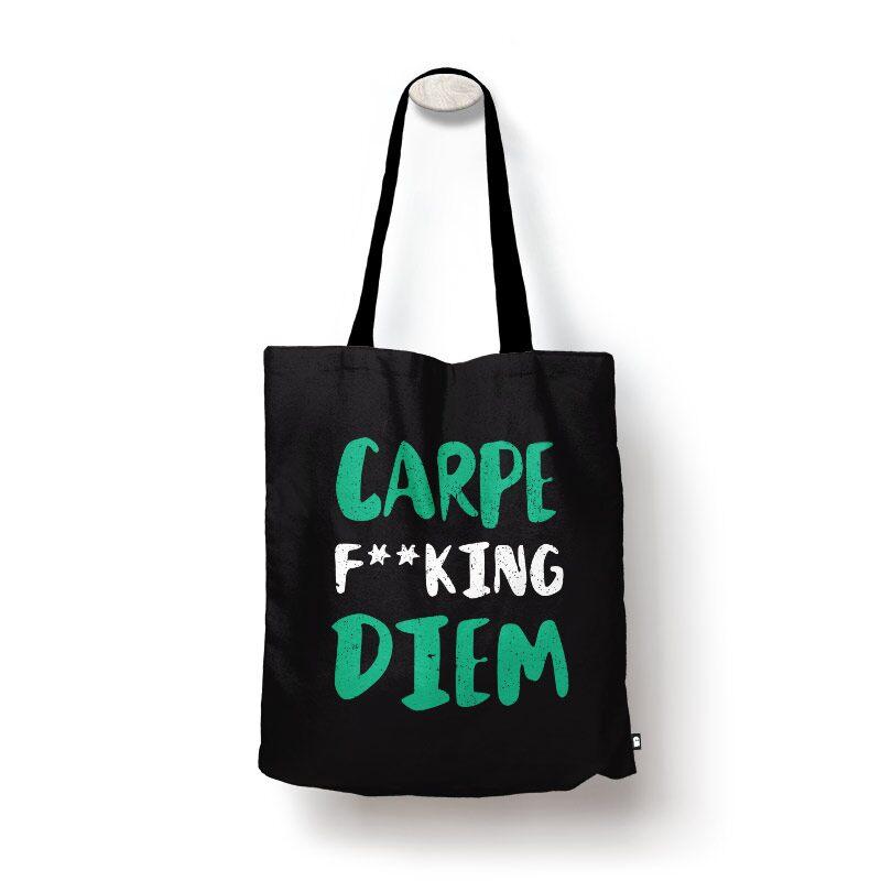 Carpe Diem Tote Bags | The Souled Store