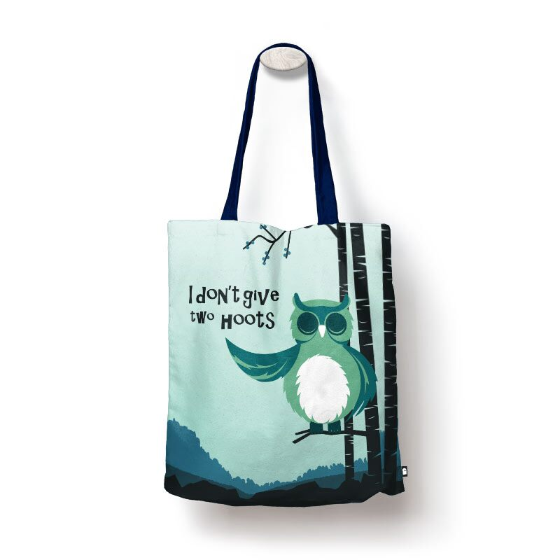 Two Hoots Tote Bags | The Souled Store