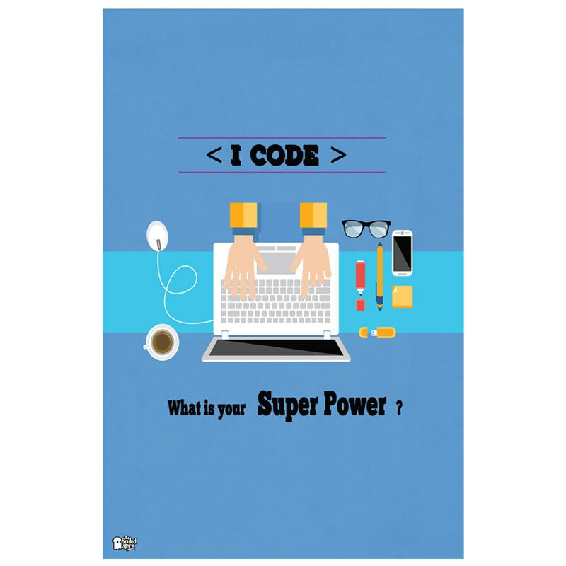I Code Posters | UDay