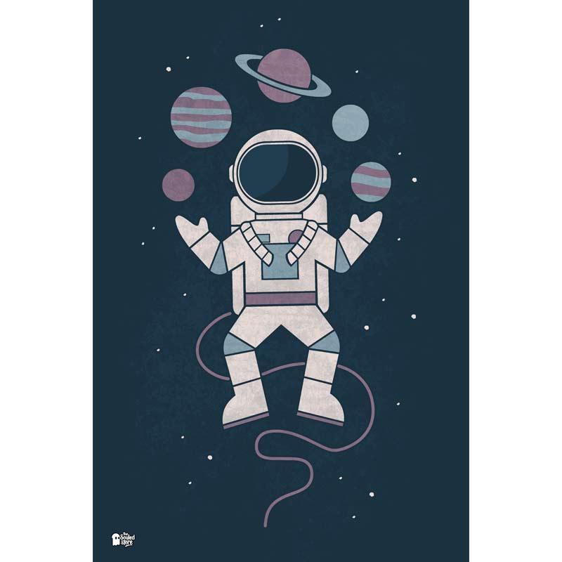 Planet Juggler Posters | Hands Off My Dinosaur