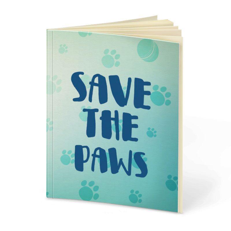 Rohit Sharma: Save The Paws Notebooks   Rohit Sharma