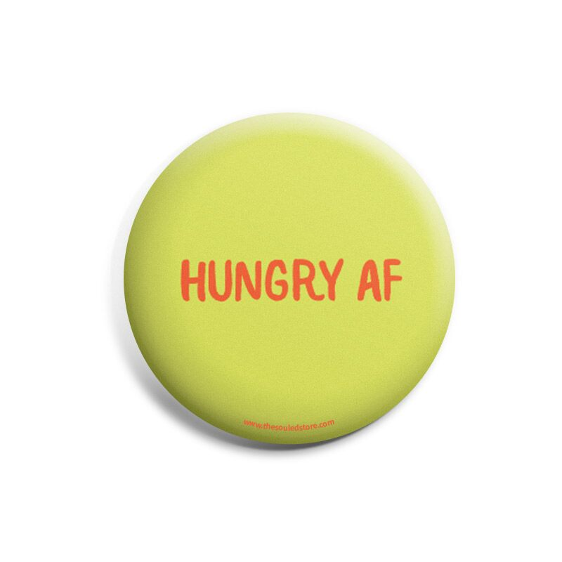 Hungry AF Badges | The Souled Store