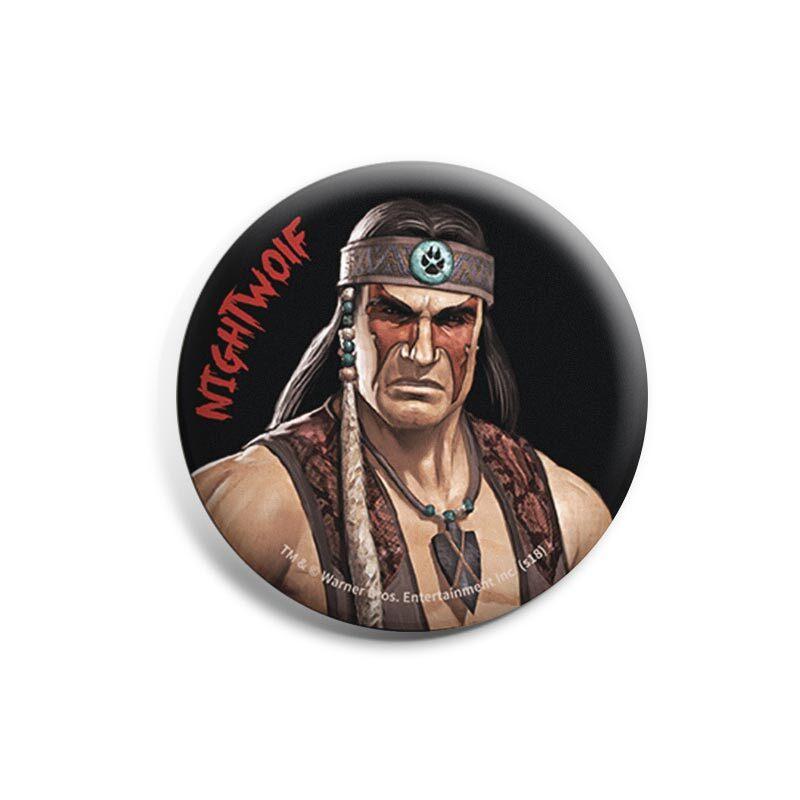 Mortal Kombat: Nightwolf Badges | Mortal Kombat™
