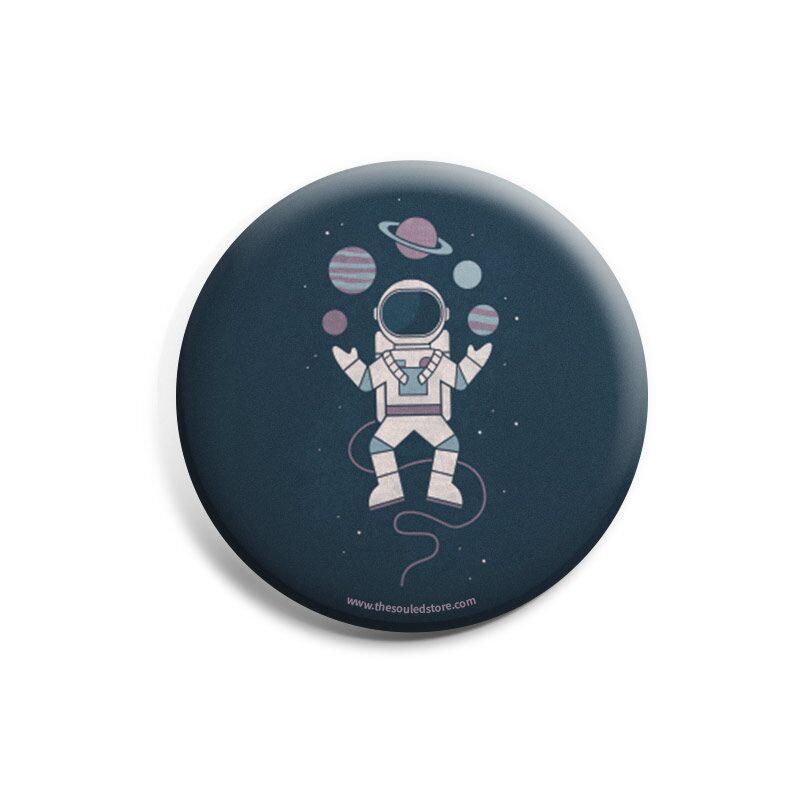 Planet Juggler Badges | Hands Off My Dinosaur