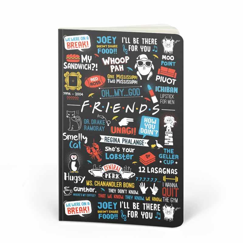 F.R.I.E.N.D.S: Doodle Notebooks | F.R.I.E.N.D.S™