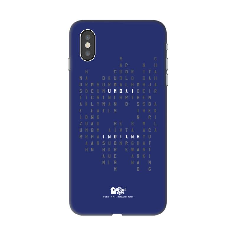 Mumbai Indians: MI Squad iPhone XS Max | Mumbai Indians
