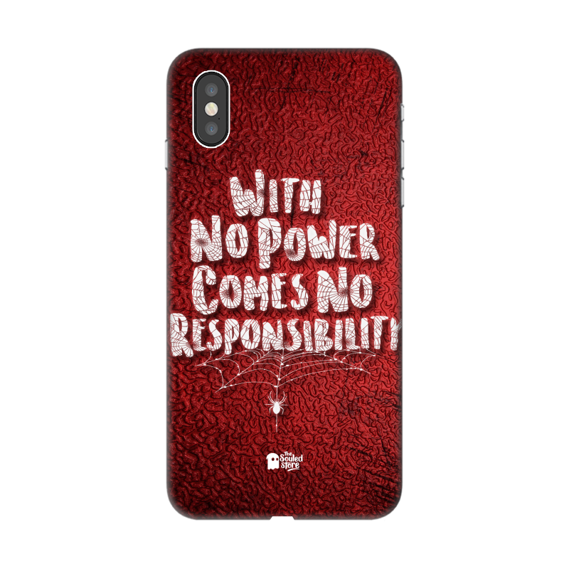 No Responsibility iPhone XS Max | The Souled Store