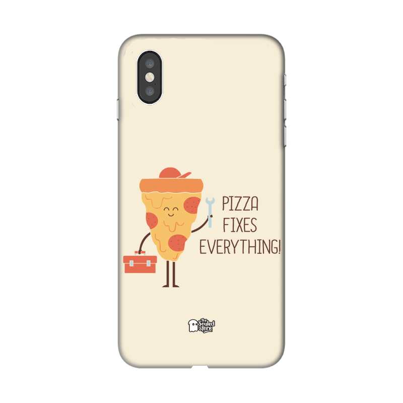 Pizza Fixes Everything iPhone XS Max | Hands Off My Dinosaur