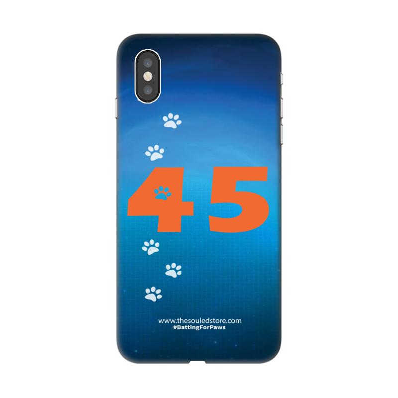 Rohit Sharma: 45 (Orange) iPhone XS Max | Rohit Sharma