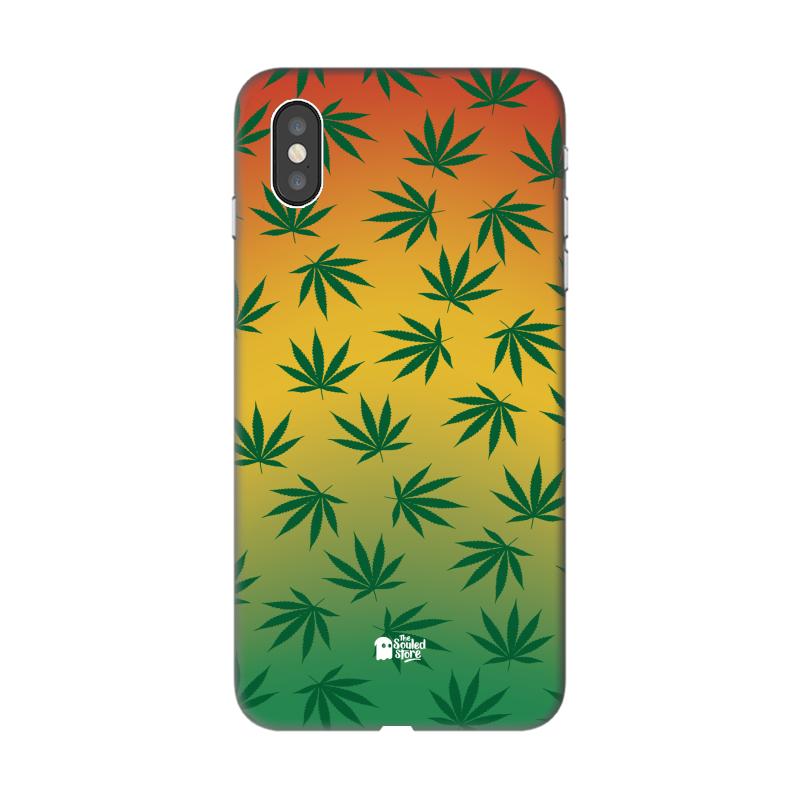 Marijuana Pattern iPhone XS   The Souled Store