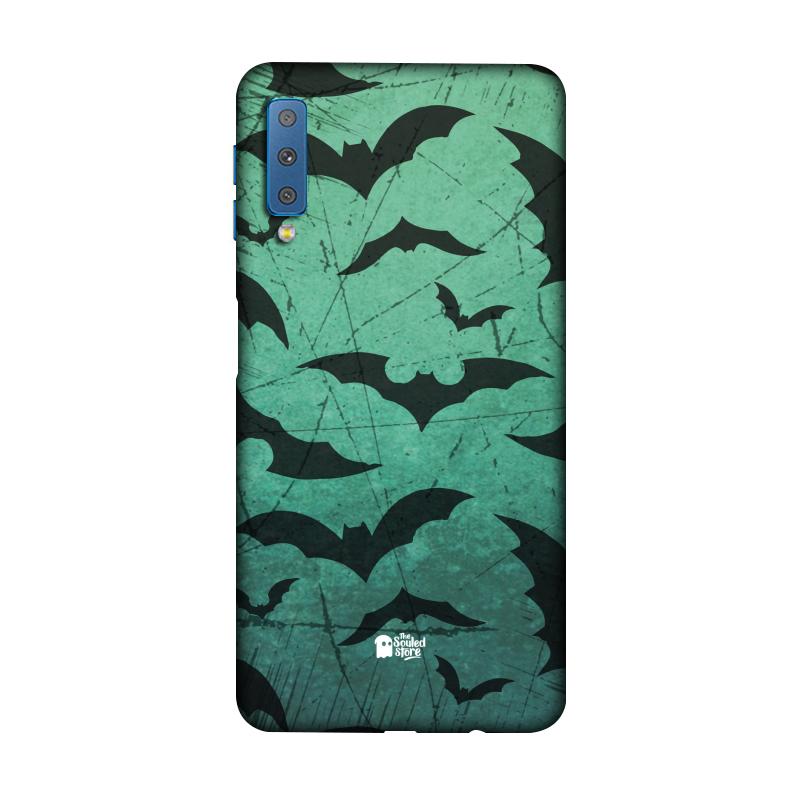 Bats Pattern Galaxy A7 (2018) | The Souled Store