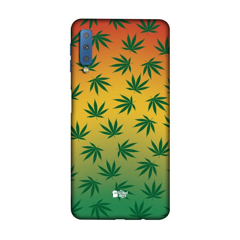 Marijuana Pattern Galaxy A7 (2018)   The Souled Store