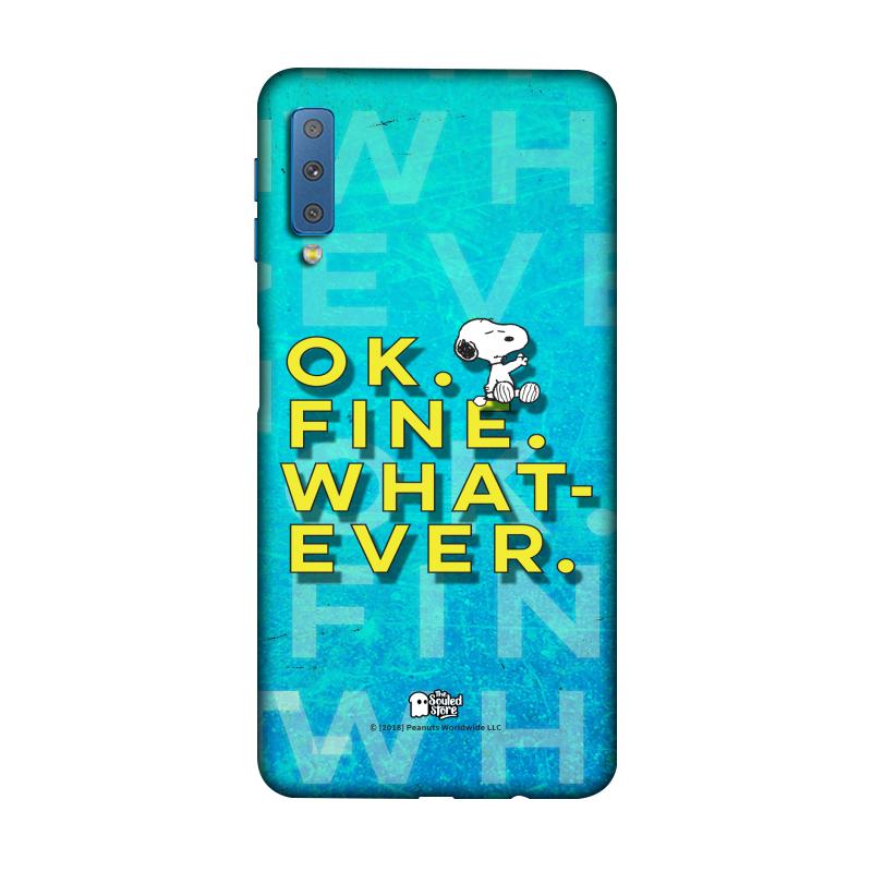 Peanuts: Ok. Fine. Whatever. Galaxy A7 (2018) | Peanuts™