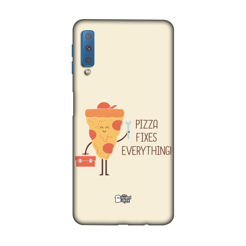 Pizza Fixes Everything Galaxy A7 (2018) | Hands Off My Dinosaur