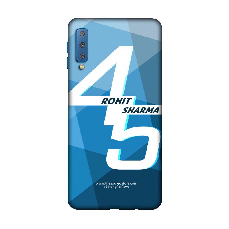 Rohit Sharma: 45 (Blue) Galaxy A7 (2018) | Rohit Sharma