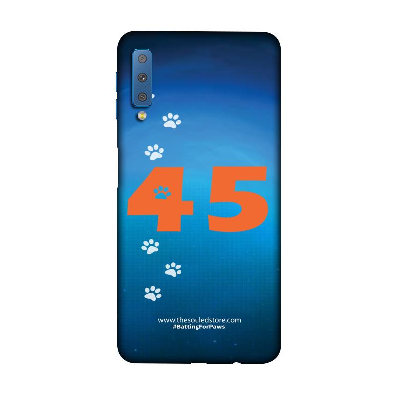 Rohit Sharma: 45 (Orange) Galaxy A7 (2018) | Rohit Sharma