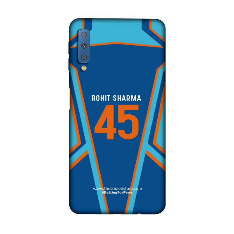 Rohit Sharma: Jersey Galaxy A7 (2018) | Rohit Sharma