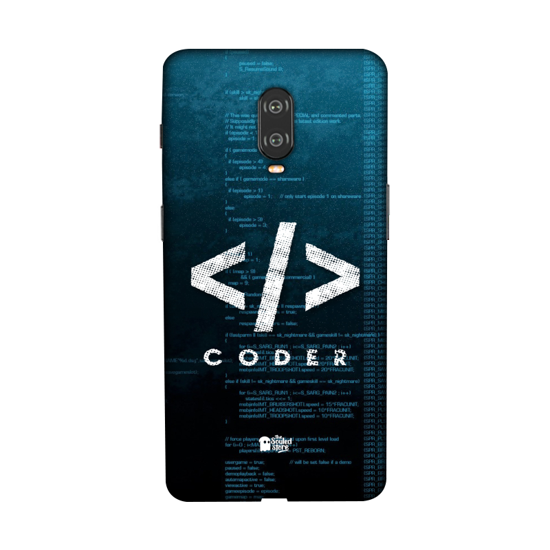 Coder OnePlus 6T | The Souled Store