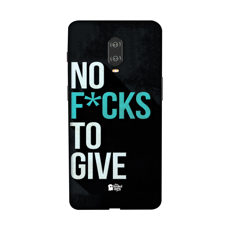 No F*cks To Give OnePlus 6T | The Souled Store