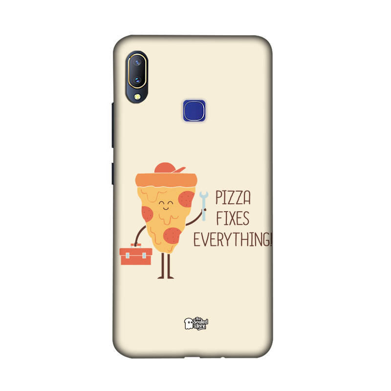 Pizza Fixes Everything Vivo V11 | Hands Off My Dinosaur