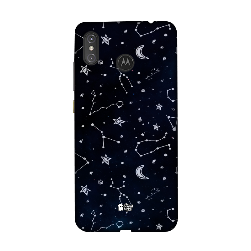 Constellation Pattern Moto One Power | The Souled Store