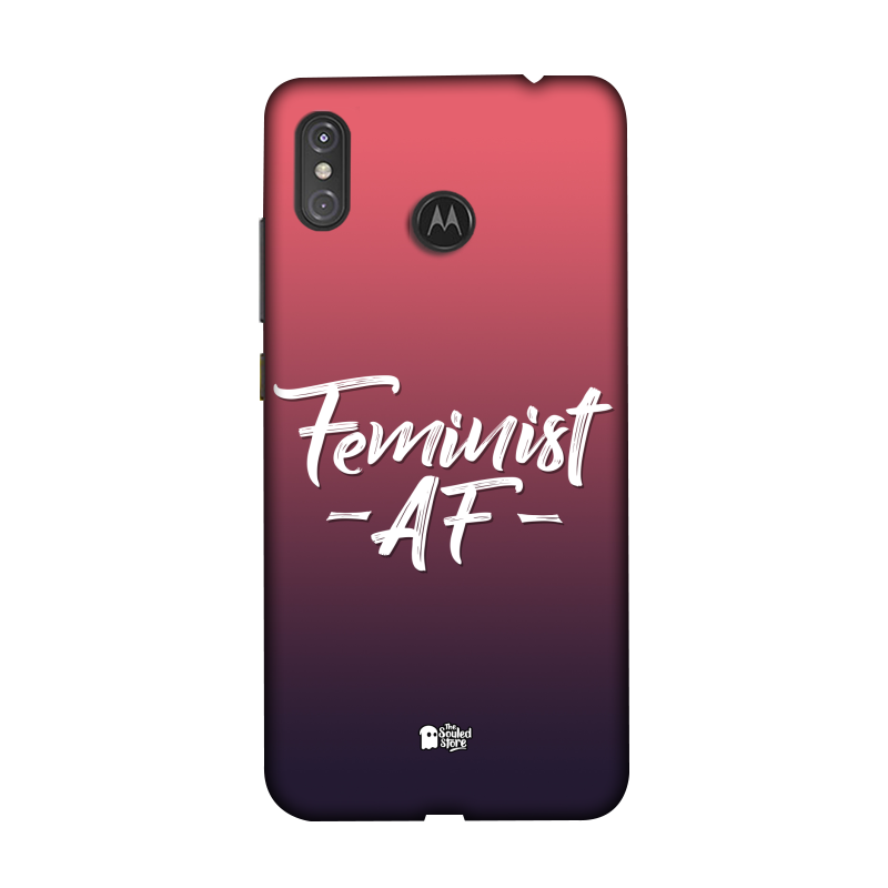 Feminist AF Moto One Power | The Souled Store