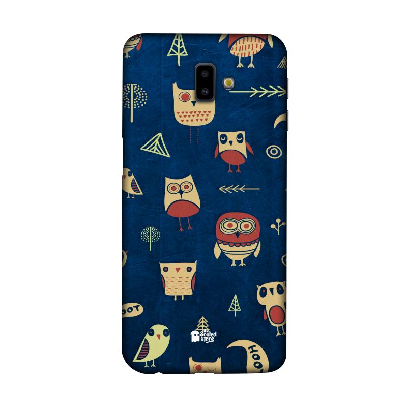 Owl Pattern (Dark) Galaxy J6 Plus | The Souled Store