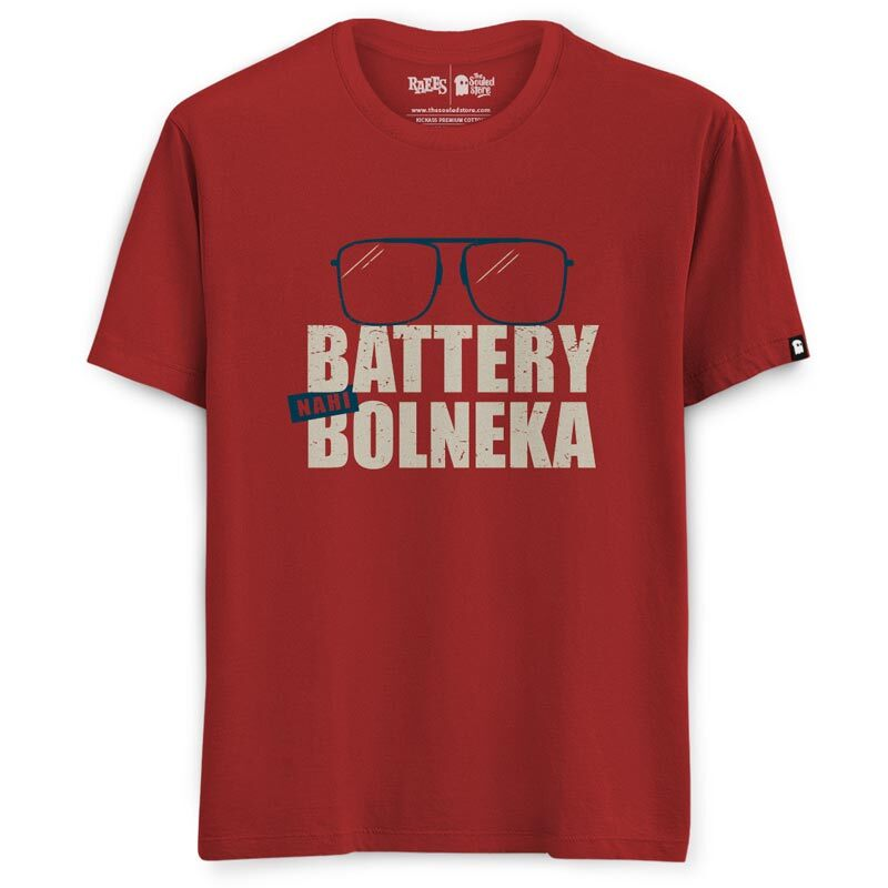 Raees: Battery Nahi Bolneka T-Shirts | Raees