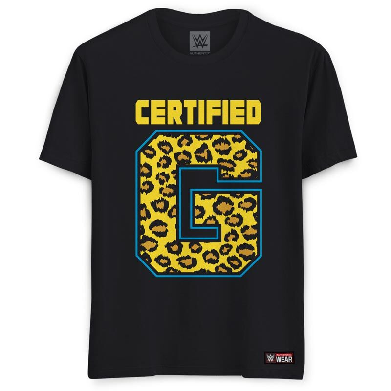 """WWE: Authentic Enzo And Big Cass """"Certified G"""" T-Shirts 