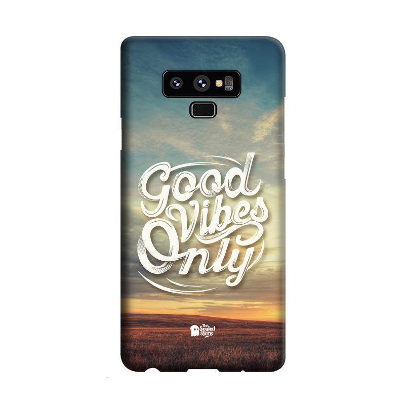 Good Vibes Only Samsung Note 9 | The Souled Store