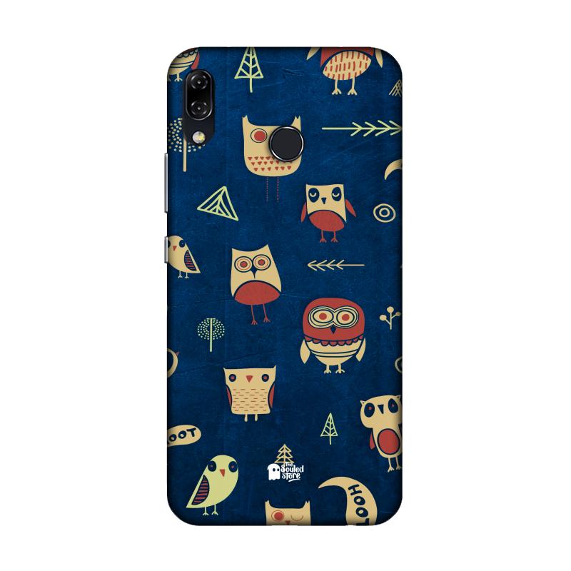 Owl Pattern (Dark) Asus Zenfone 5Z | The Souled Store