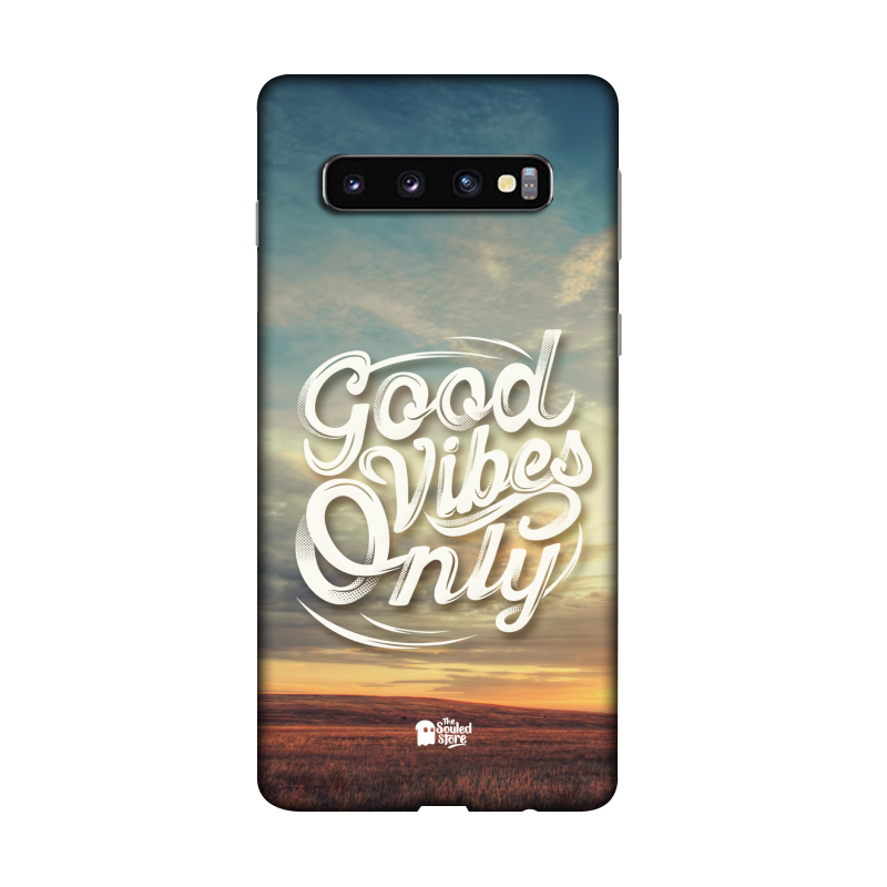 Good Vibes Only Galaxy S10 | The Souled Store