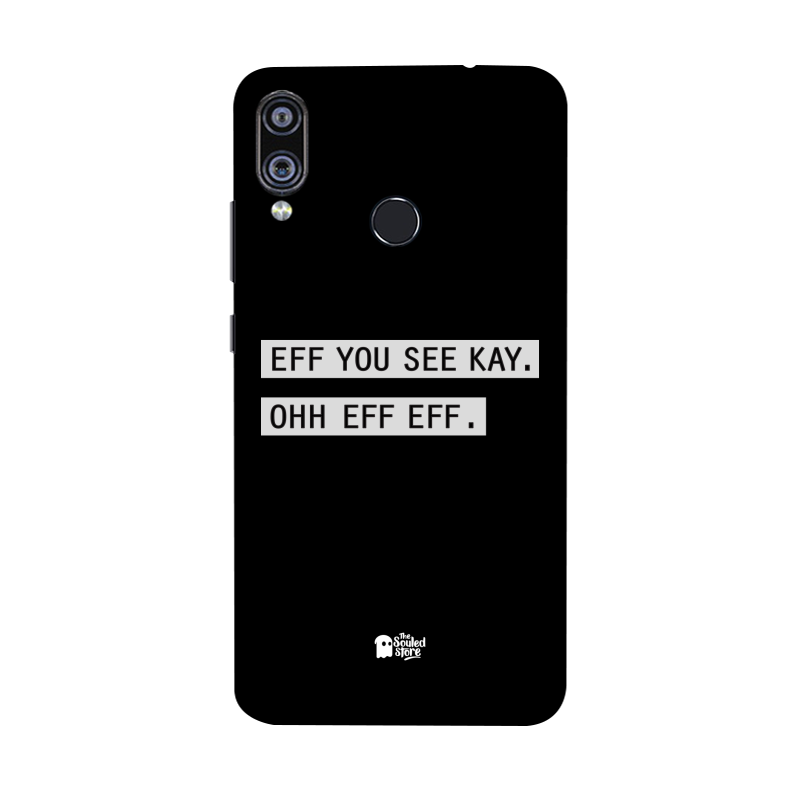 Eff You See Kay Redmi Note 7 Pro | The Souled Store