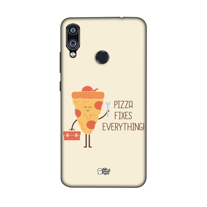 Pizza Fixes Everything Redmi Note 7 Pro | Hands Off My Dinosaur