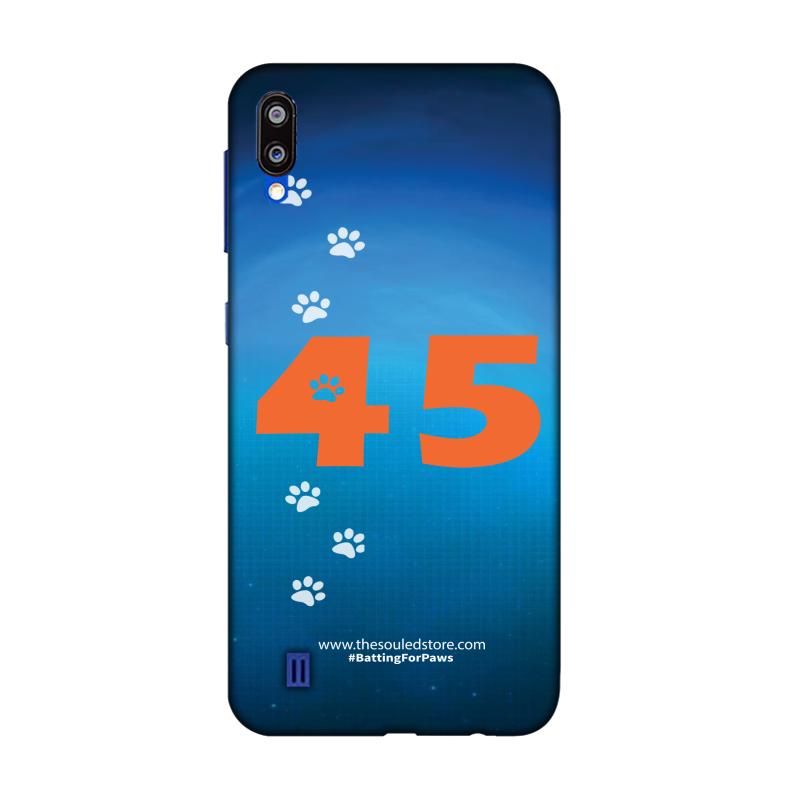 Rohit Sharma: 45 (Orange) Samsung M10   Rohit Sharma