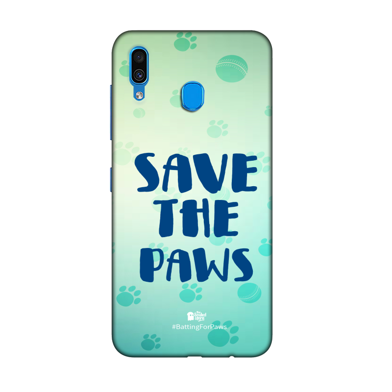 Rohit Sharma: Save The Paws Samsung A30   Rohit Sharma