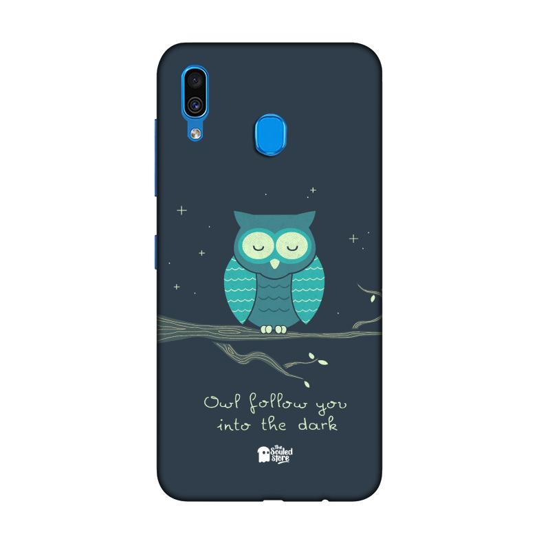 Romantic Owl Samsung A30   Hands Off My Dinosaur