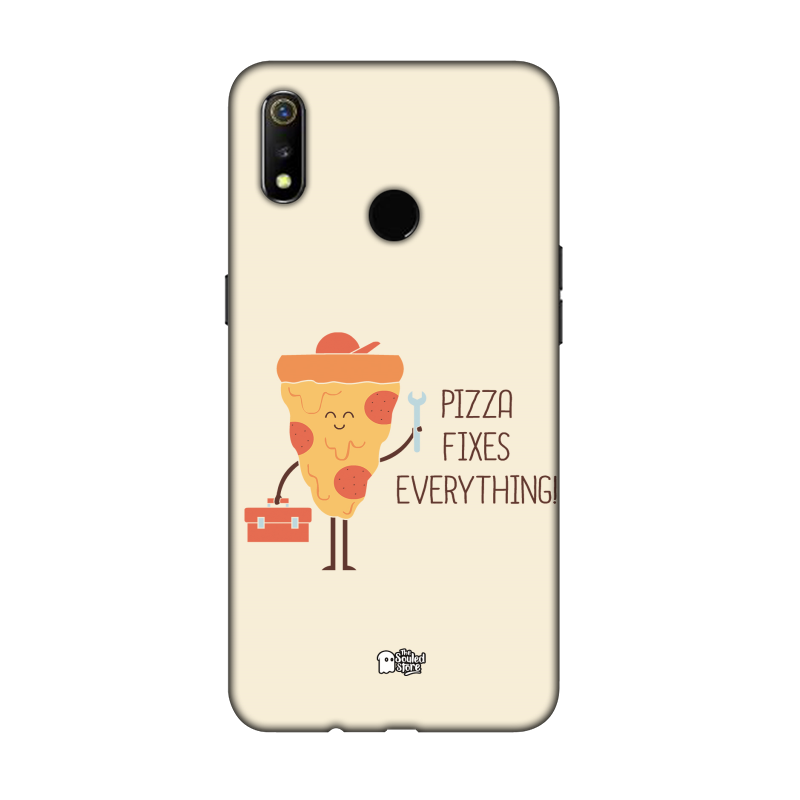 Pizza Fixes Everything Oppo Realme 3 | Hands Off My Dinosaur