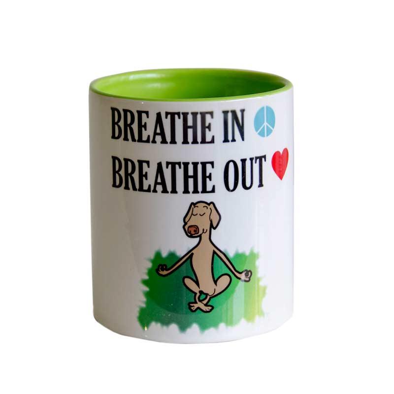 Yogisattva: Breathe Mugs   Yogisattva