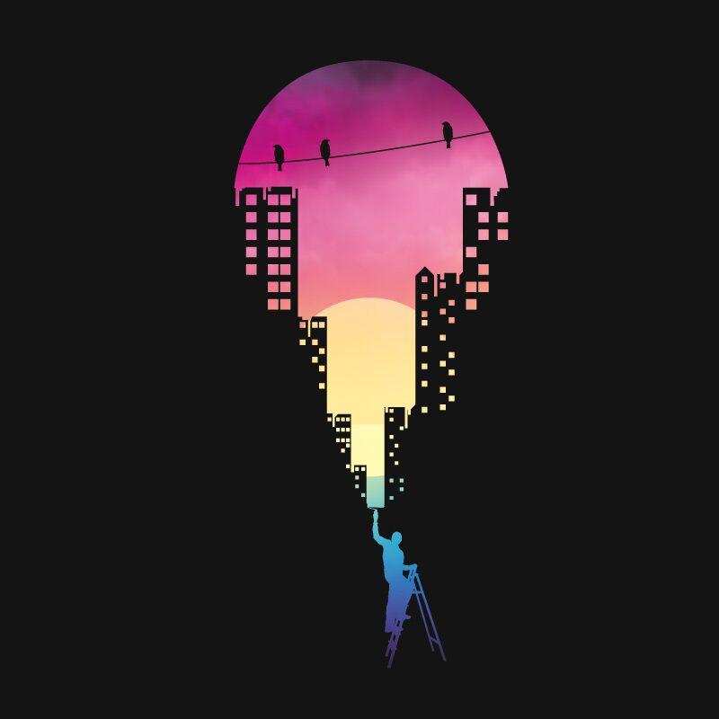 Paint The Sky Posters | Rumman Rizvi