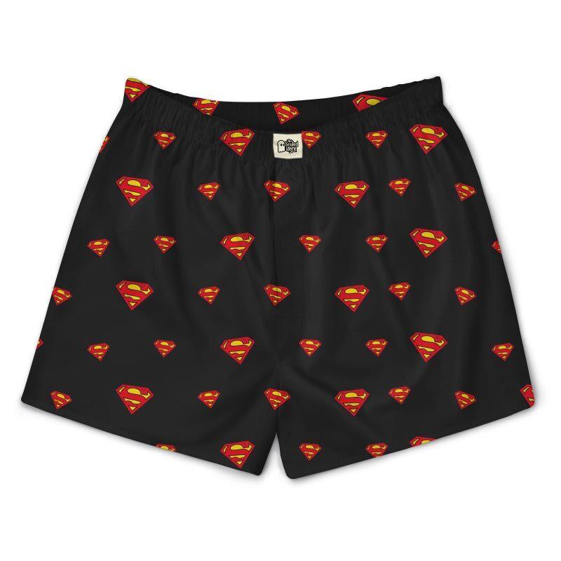 Superman: Logo Pattern Boxers | DC Comics™
